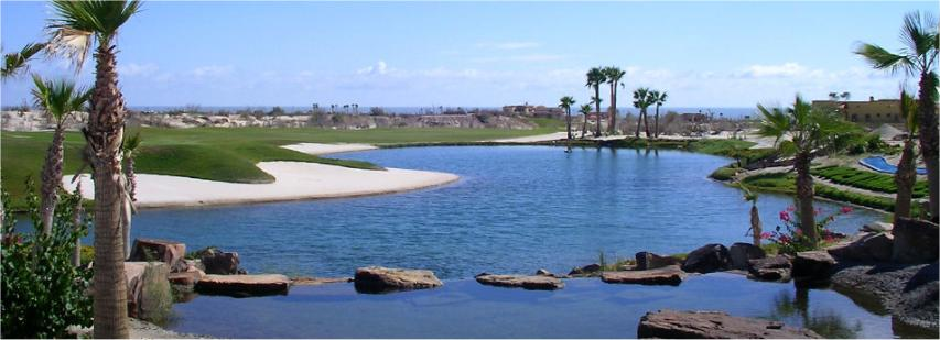 Golf Pond Water Hazard
